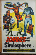Zombies of the Stratosphere - 1952 original one sheet poster cinema
