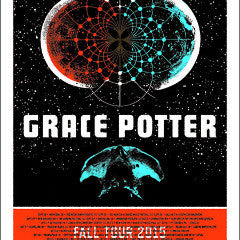 Grace Potter - 2015 Aesthetic Apparatus poster fall tour