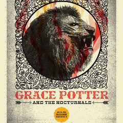 Grace Potter - 2013 Aesthetic Apparatus poster Grand Rapids