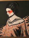 Fin DAC - 2014 Tanana poster print art Orange Edition hand signed and numbered