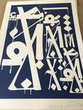 Retna 2014 Shepard Fairey Provocateurs Chicago poster print Art Alliance OBEY