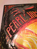 Pearl Jam - 2013 Munk One poster print Invisible Industries Pittsburgh, PA