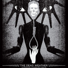 The Dead Weather - 2009 Aesthetic Apparatus poster Leeds Jack White