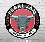 Pearl Jam - 2018 Event Button Chicago, IL Wrigley Field The Home Away Shows