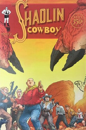 Shaolin Cowboy Issue 2 - 2005 Geof Darrow Art Print