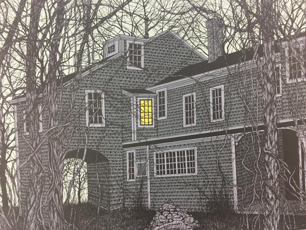 House of Edward Gorey - 2009 Dan McCarthy Poster Art Print
