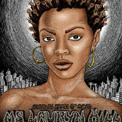 Lauryn Hill - 2014 Emek poster Portland, OR signed