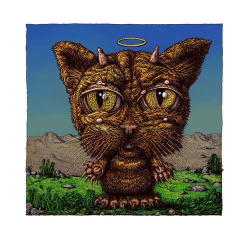 The Good Bad-Cat - 2020 David Welker poster, art print with COA