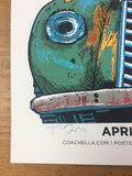 Coachella - 2018 Tim Doyle Poster Day Version