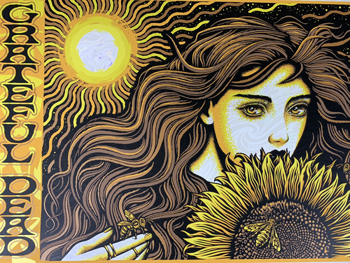 Grateful Dead The Beekeeper - 2020 Todd Slater Poster Opal Edition