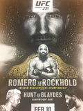 UFC 221 - 2018 Poster Romero vs Rockhold Interim Middleweight Championship