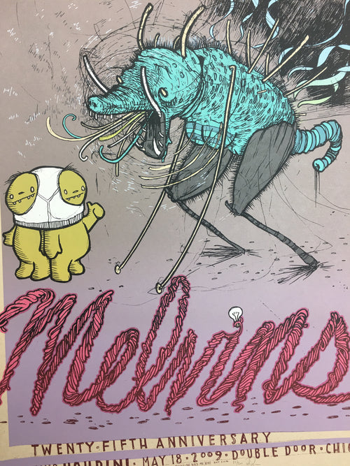Melvins - 2009 Jay Ryan poster Chicago, IL Double Door