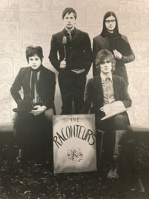 The Raconteurs - 2008 Rob Jones poster The White Stripes, Jack White