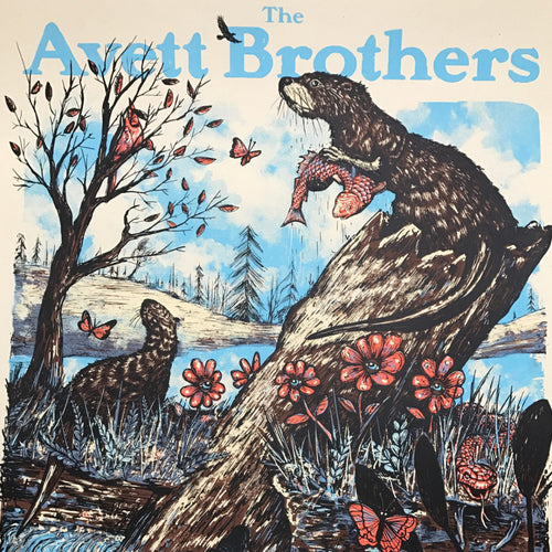 The Avett Brothers - 2017 Zeb Love poster Charleston WV CREAM x/10