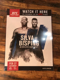 UFC poster Silva vs. Bisping London Ultimate Fighter
