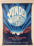 Yonder Mountain String Band - 2007 Methane Studios poster Morrison, CO Red Rocks