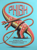 Phish - 2016 DKNG Poster Alpharetta Verizon Wireless Amph