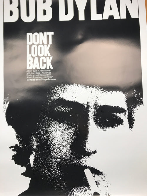Don't Look Back - 2019 Bob Dylan poster film movie print