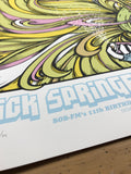 Rick Springfield - 2015 Billy Perkins poster Cedar Park Center