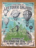 Leftover Salmon - 2017 Derek Hatfield poster Salt Lake City, UT The Depot
