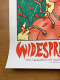 Widespread Panic - 2014 Jermaine Rogers poster Austin City Limits ACL 1st Ed.