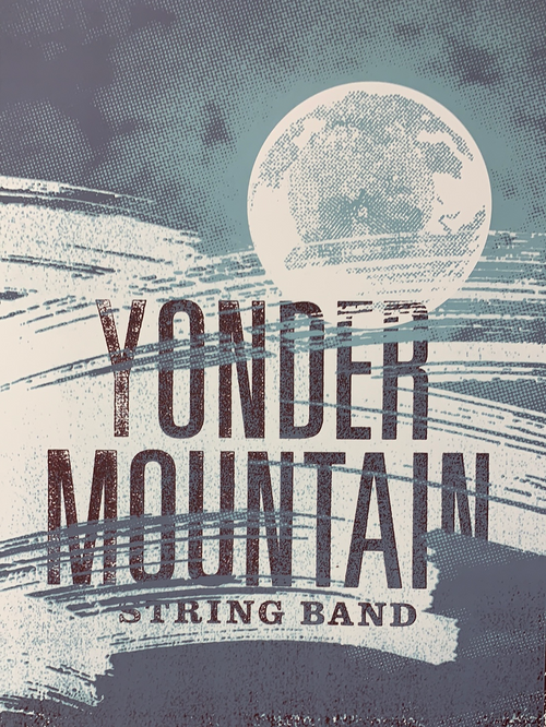 Yonder Mountain String Band - 2007 FarmBarn Art poster Columbus, OH