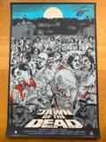 Dawn of the Dead - 2011 Jeff Proctor Poster Blue VARIANT S/N