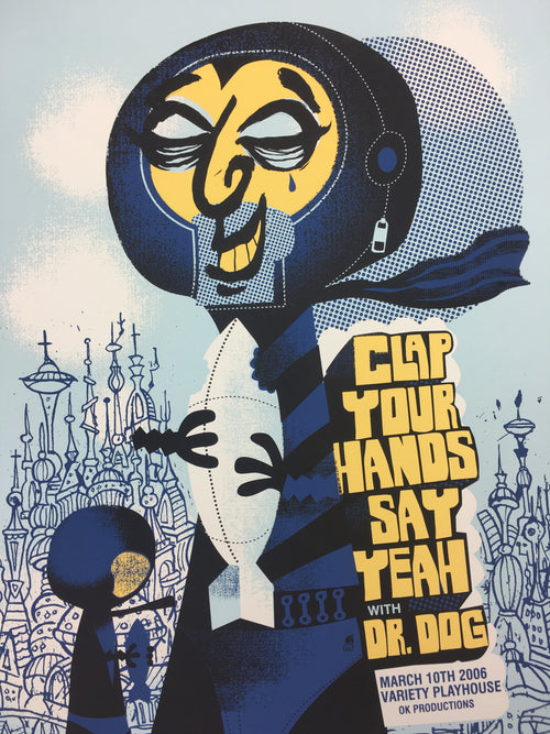 Clap Your Hands Say Yeah - 2006 Methane Studios poster Atlanta, GA Variety Playh
