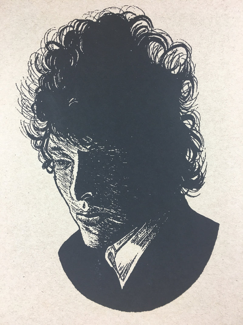 Bob Dylan The Rolling Stone - 2014 Brian Methe Art Print