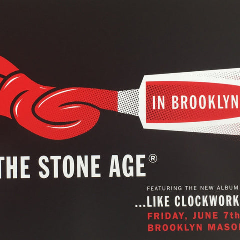 Queens of the Stone Age - 2013 Kii Arens poster Brooklyn New York QOTSA