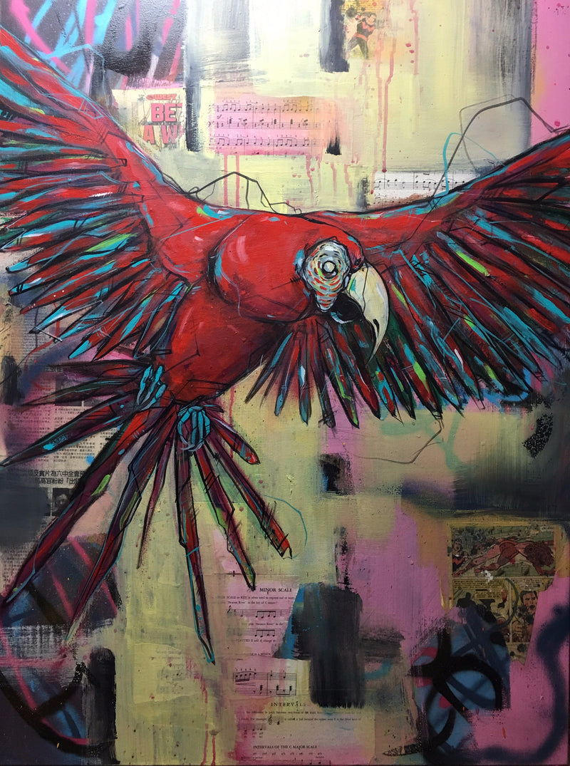 Bird of Paradise III - 2016 Chicago Artist Bunny XLV