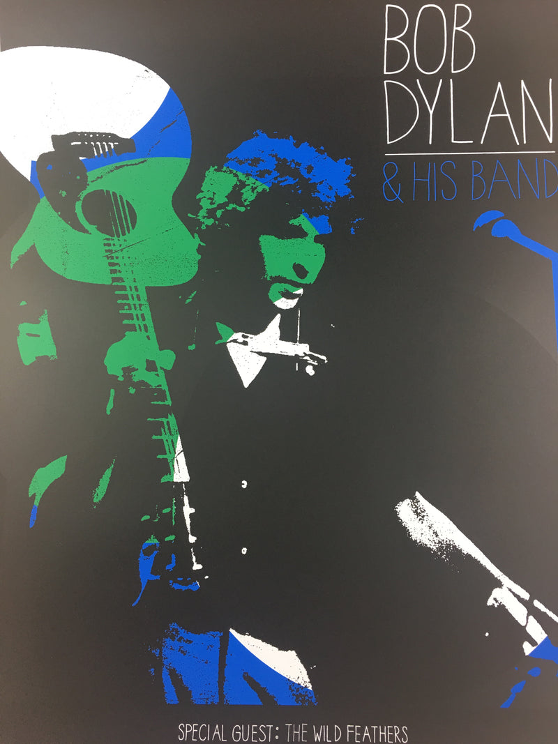 Bob Dylan - 2013 Pete Cardoso Poster Louisville, KY Louisville Palace