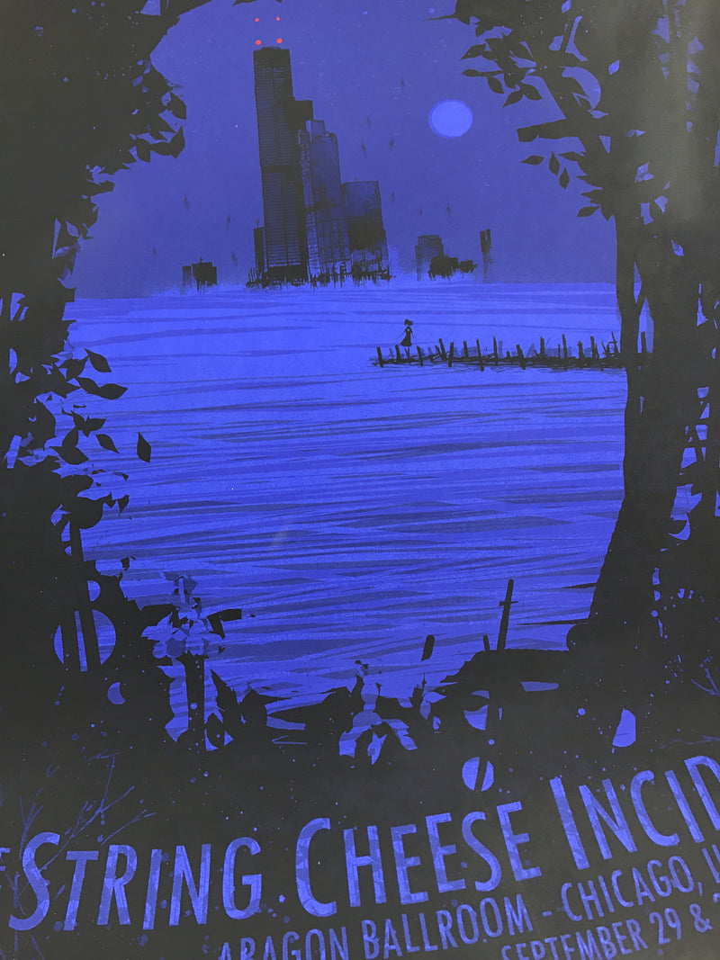 String Cheese Incident - 2006 Daniel Danger poster Chicago VARIANT