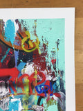 The Grind - Cope2 poster limited edition art print New York graffiti art