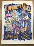 Umphrey's McGee - 2008 Guy Burwell poster Washington, DC 9:30 Club