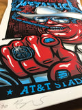 Metallica - 2017 Ames Brothers poster Dallas, Texas AT&T Stadium S/N