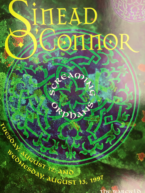 Sinead O'Connor - 1997 Frank Wiedemann poster San Francisco, CA Warfield Theatre