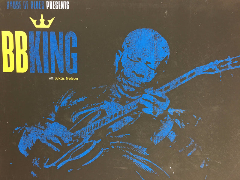 BB King - 2010 Pete Cardoso poster Boston, MA Blues Guitar