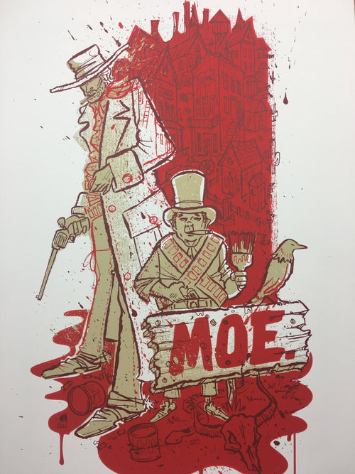 moe. - 2005 Methane Studios poster Fall Tour