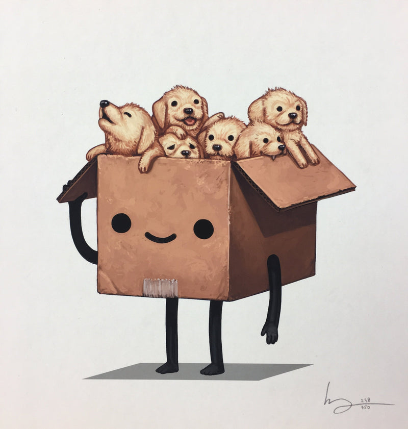 Boxo - 2017 Mike Mitchell Art Print Limited Edition