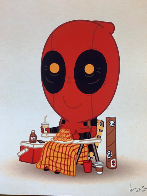 First in Line - 2014 Mike Mitchell poster art print