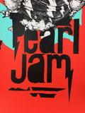 Pearl Jam - 2014 Joram Roukes Poster Adelaide, AUS The Big Day Out