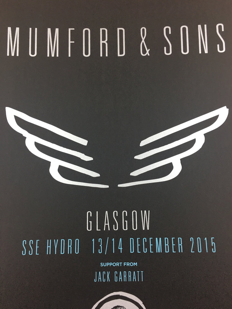 Mumford & Sons - 2015 Glasgow, Scotland, UK SSE Hydro