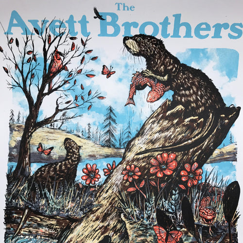 The Avett Brothers - 2017 Zeb Love poster Charleston WV 1st x/200