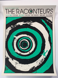 The Raconteurs - 2019 Lil Tuffy poster Oakland, CA Melvins
