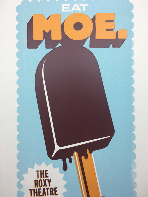 moe. - 2006 Methane Studios poster Los Angeles, CA The Roxy Theater