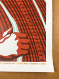 Pearl Jam - 2005 Ames Brothers Poster Toronto, ON, CAN Air Canada Center