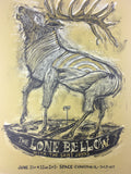 The Lone Bellow - 2013 Dan Grzeca Poster Evanston, IL SPACE