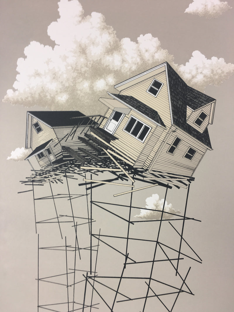 Figure One: Structural Instability - 2012 Justin Santora Poster Art Print