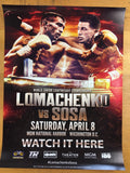 Boxing - 2017 Lomachenko vs Sosa World Junior Lightweight Championship, MGM Nati